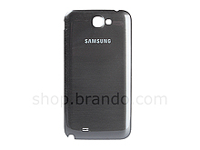 Samsung Galaxy Note II GT-N7100 Replacement Back Cover - Titanium Gray