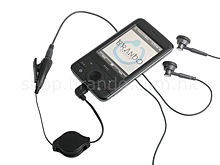 HTC Retractable Stereo Converter with Microphone