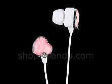 Heart Style Stereo Headphone