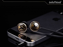 infoThink Iron Man 3.5mm Earphone