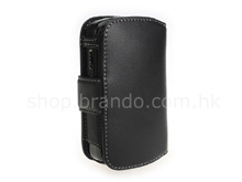 Brando Workshop Leather Case for HTC P3600 (SideOpen)