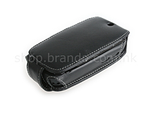Brando Workshop Leather Case for HTC Gene/ HTC P3400 (FlipTop)