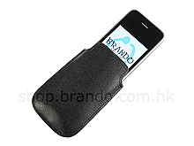 Fashionable Leather Pouch Case for iPhone 3G