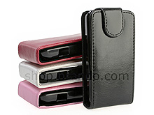 Samsung GT-I5700 Galaxy Spica Fashionable Flip Top Leather Case