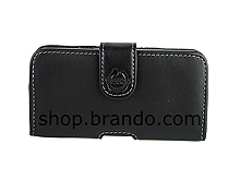 Brando Workshop Leather Case for Samsung Galaxy S II (Pouch Type)