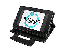 Brando Workshop Leather Case for Blackberry Playbook (Side Open w/ magnet)