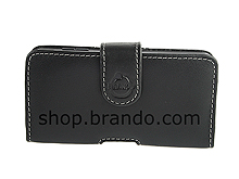 Brando Workshop Leather Case for Motorola Droid 3 (Pouch Type)