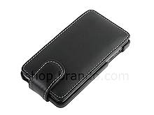 Brando Workshop Leather Case for Motorola Droid 3 (Flip Top)