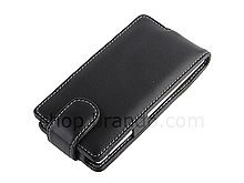 Brando Workshop Leather Case for Sony Xperia S (Flip Top)