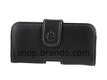 Brando Workshop Leather Case for HTC One V (Pouch Type)