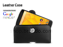Brando Workshop Leather Case for Google Nexus 4 E960 (Pouch Type)