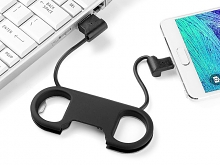 micro USB Cable with Bottle Opener