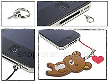 Handy Strap Ring Holder Set for iPhone 4