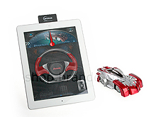 USB Rechargeable RC Wall Car for iPhone/iPad/iPod