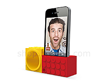 iPhone 4 Facetime Stand with Powerless Brick Amplifier