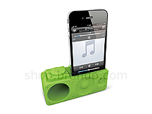 iPhone 4 Facetime Stand with Powerless BoomBox Amplifier