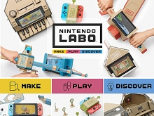 Labo DIY Cardboard Variety Kit for Nintendo Switch
