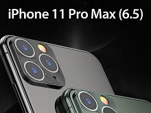 iPhone 11 Pro Max (6.5) Rear Camera Protective Metal Lens Ring