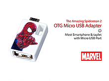 InfoThink The Amazing Spider-Man 2 OTG Micro USB Adapter