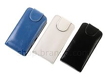 Samsung S5230 Star Fashionable Flip Top Leather Case