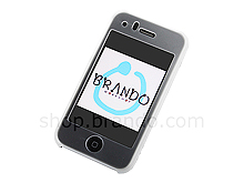 Chrome Back Cover with Mist Shield for iPhone 3G/3G S