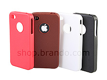 Artificial leather case for iPhone 4