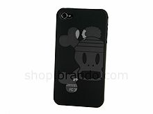 iPhone 4 Skull With Beanie Back Case
