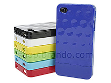 iPhone 4 Concave Circle Patterned Back Case