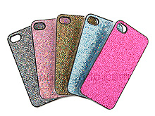 iPhone 4 Glitter Plactic Hard Case