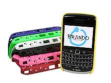 BlackBerry Bold 9700 Foot Print Plastic Case