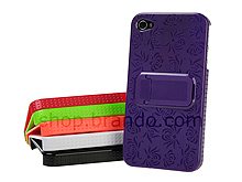 iPhone 4 Lotus Back Case with Stand