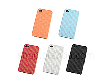 iPhone 4 Woven-Patterned Hard Case