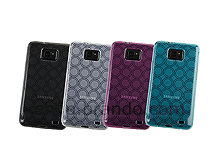 Samsung Galaxy S II Circle Patterned Soft Plastic Case