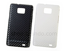 Samsung Galaxy S II Twilled Back Case