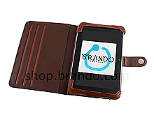 Leather Folio For HTC Flyer P510e