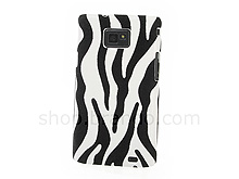 Samsung Galaxy S II Zebra-Stripe Back Case