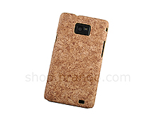 Samsung Galaxy S II Pine Coated Plastic Case