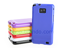 Samsung Galaxy S II Jelly Plastic Case