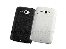 HTC ChaCha Leather Back Case