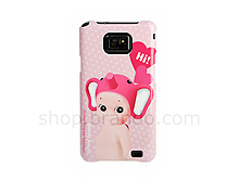 Samsung Galaxy S II Elephant-Baby Back Case