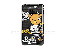 Samsung Galaxy S II Injuring Bear Back Case