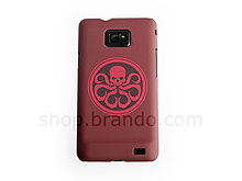 Samsung Galaxy S II Captain America - Red Skull Sign Back Case (Limited Edition)
