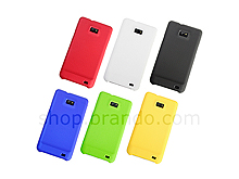 Samsung Galaxy S II Metallic-Like Plastic Back Case