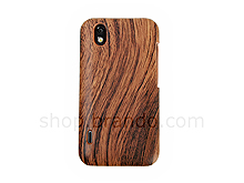 LG Optimus Black P970 Wooden Back Case