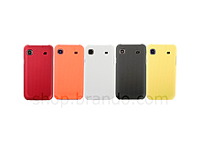 Samsung Galaxy S I9003 Metallic-Like Plastic Back Case