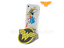 iPhone 4/4S DC Comics Heroes - Wonder Woman Back Case with Docking (Limited Edition)