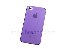 Matte Plastic Protective Back Case for iPhone 4S