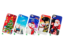 iPhone 4/4S Christmas Scene Back Case