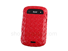 BlackBerry Bold 9900 Woven Leather Case