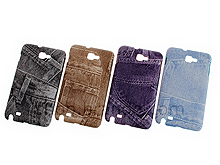 Samsung Galaxy Note Blue Jeans Back Case